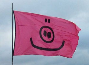 The real one and (almost) only pigflag